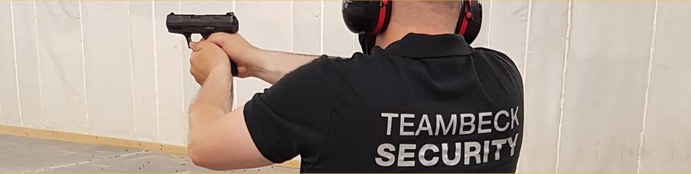 TeamBeck Security. Professionelle Dienstleistungen im Bereich Schutz und Sicherheit.